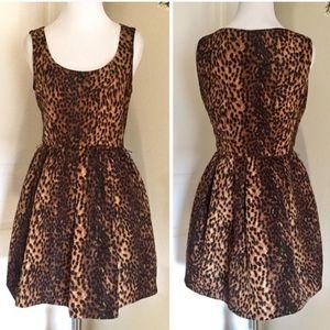 Cheetah Dress/ Animal Print Dress